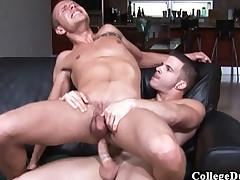 College Dudes - Angel Shake fucks Dispossess Ryder